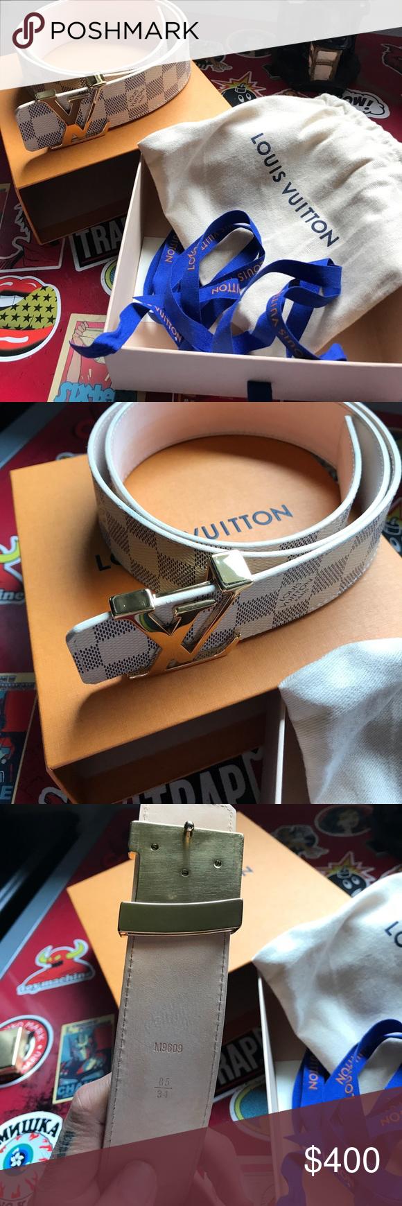 Louis Vuitton belt Authentic no low ballin Louis Vuitton ...