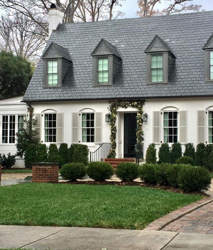 White Exterior | PRETTY HOUSES | Pinterest | Modern House Design, Exterior  Design And House