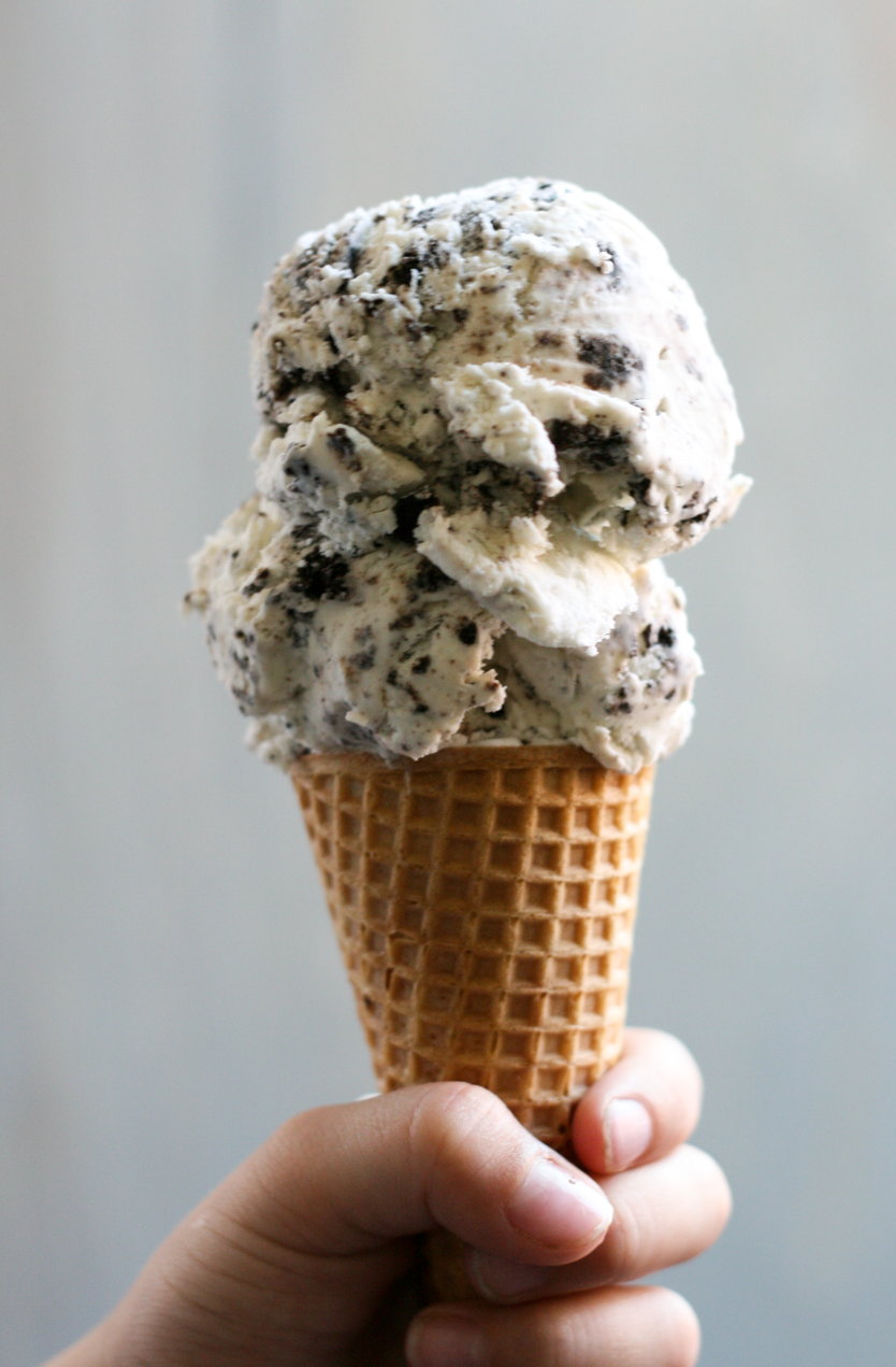 No Churn Cookies And Cream Ice Cream Recipe Three Ingredient Cookies Ice Cream Homemade Ice Cream Recipes