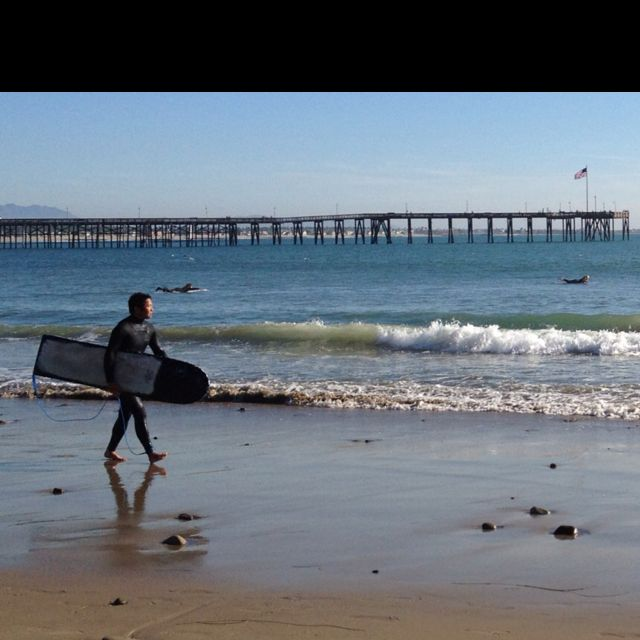 Can T Wait To Visit The Family Again Ventura Ca Surfer Ventura Beach California Beach California Homes