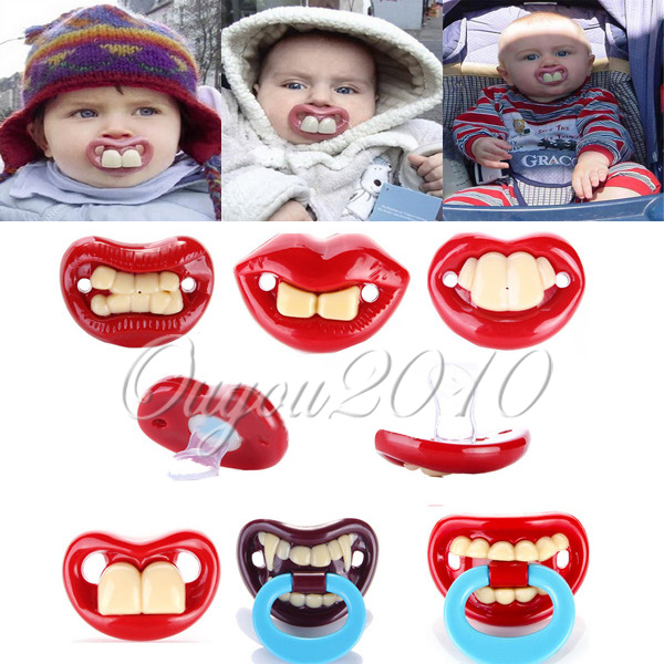 Multi-Style Funny Infant Pacifier Dummy Baby Teether Pacy Orthodontic Nipple Lip **************************************** המוצץ הכי מגניב שראיתם רק ב 7 שקלים כולל משלוח חינם לארץ!