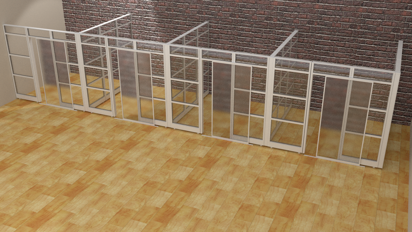 Glass Office Designer Sapphire Modular Walls System   Create your office in  just a few hrs  adds beauty and sophistication to any office setting. study cubicle       Dividers Cubicle Panels Modular Office