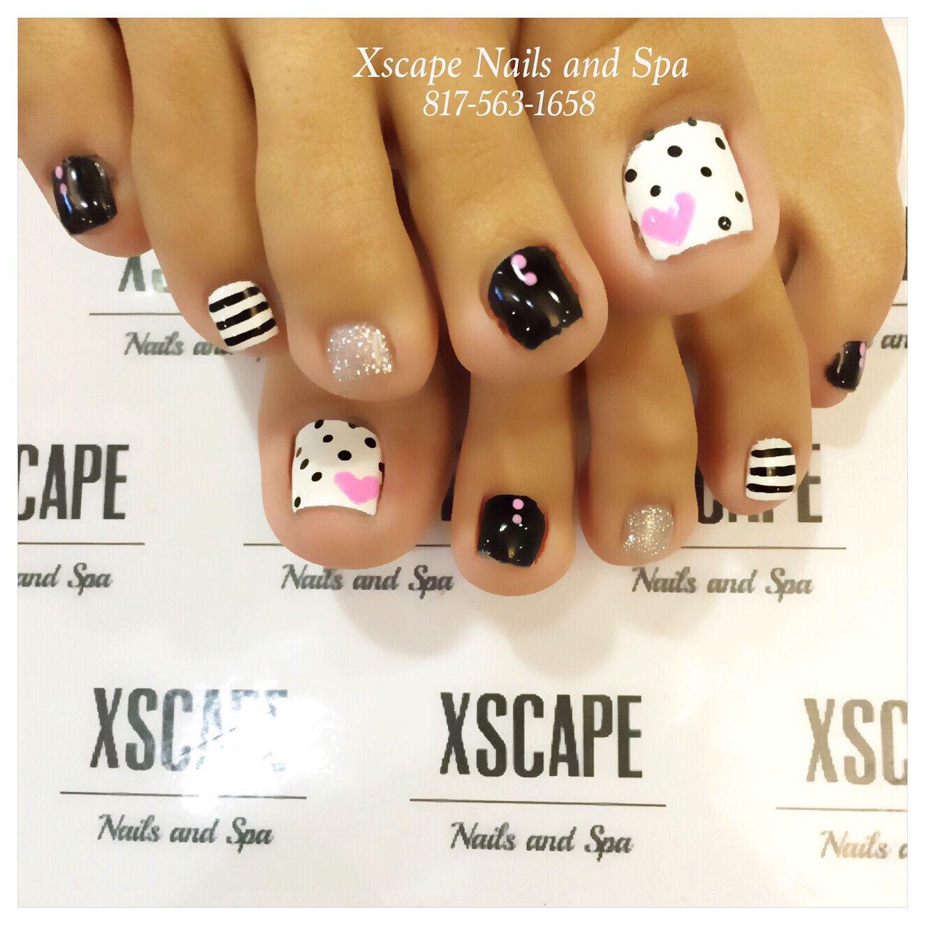 Cute toe designs …   Pinteres…