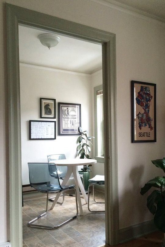 Small Living Room Apartment Therapy: Rachael's Stylish Seattle Studio — Small Cool