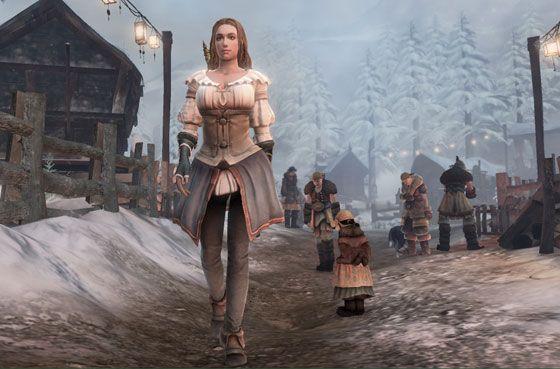 Fable III hero princess