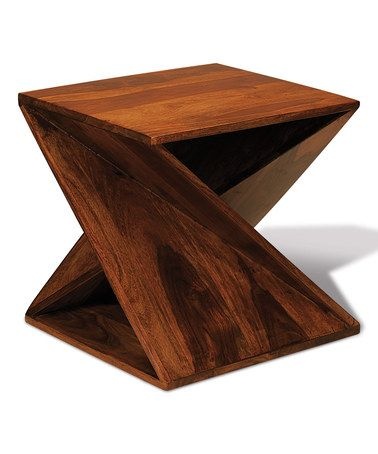 Loving This Twisted Wood Table On
