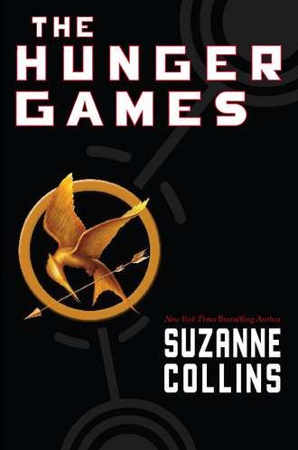 The first book in the Hunger Games trilogy by Suzanne Collins