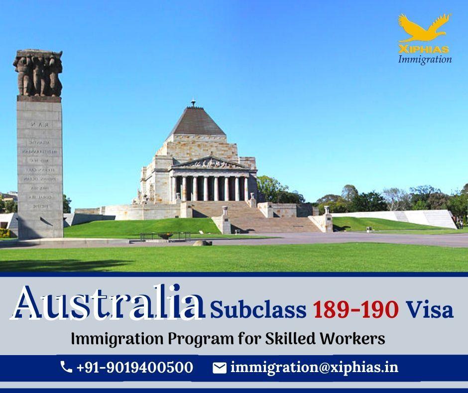 Australia Subclass 189190 Visa in 2020 Immigration