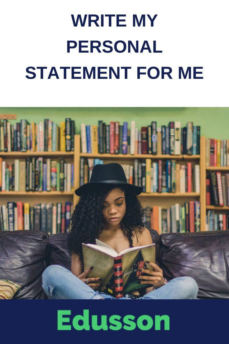 Help me with my personal statement