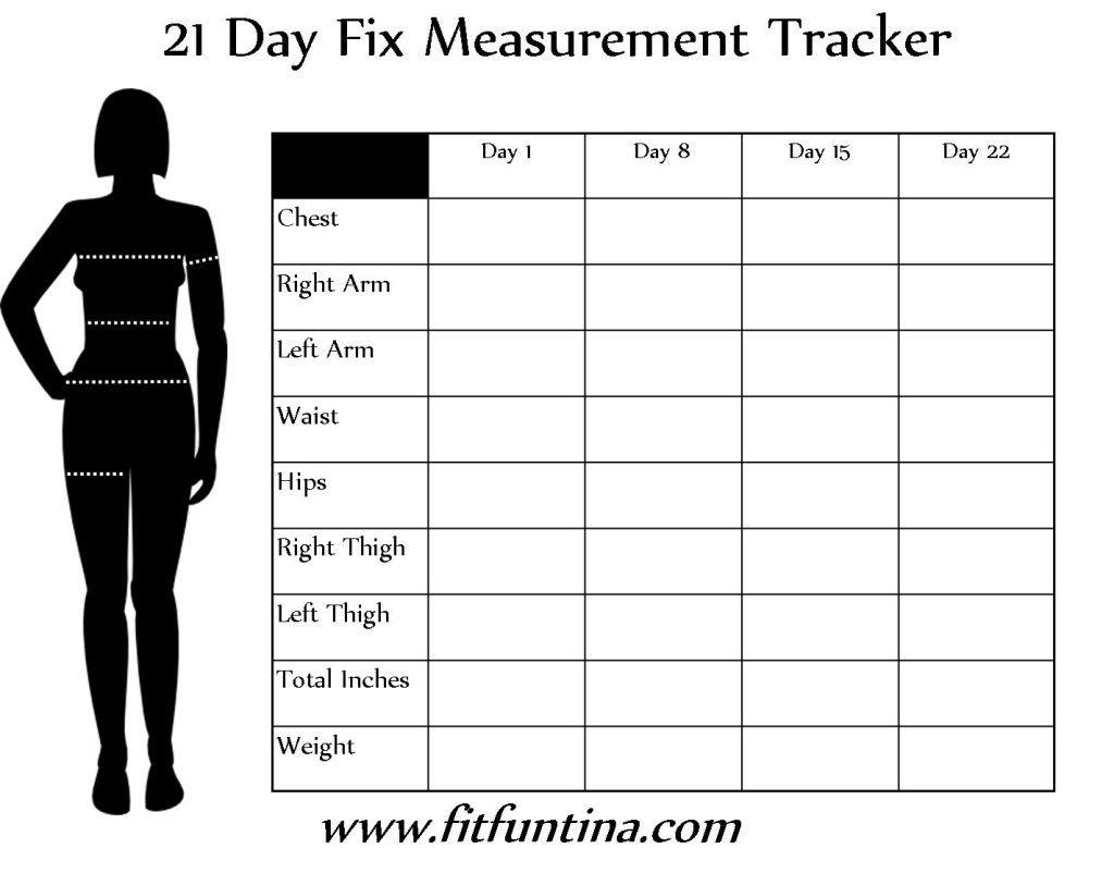 day fix measurement tracker challenge plan also beachbody coach in rh pinterest