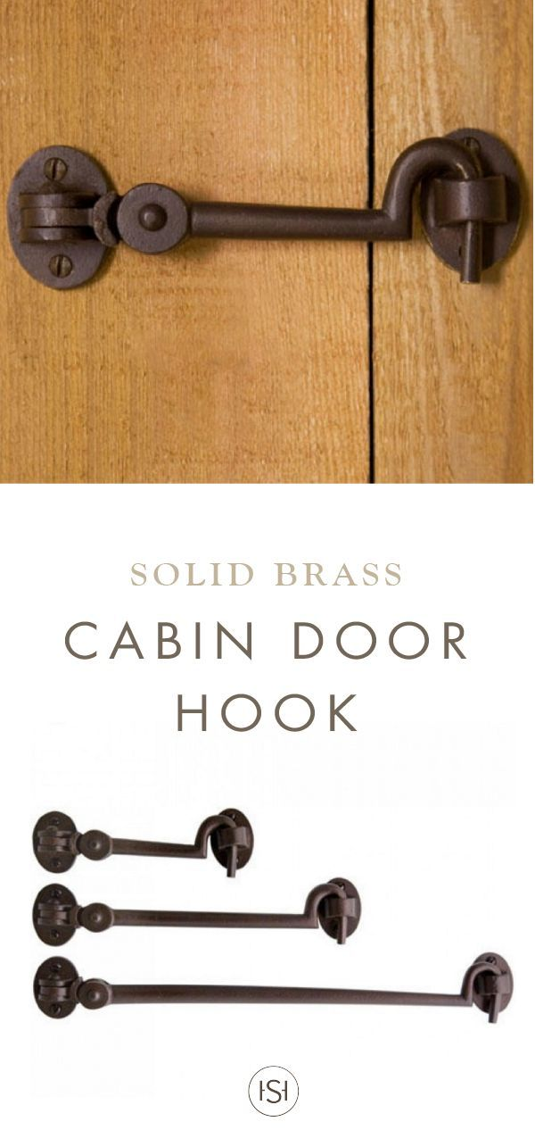perfect for use on a pocket door or small hatch this solid bronze