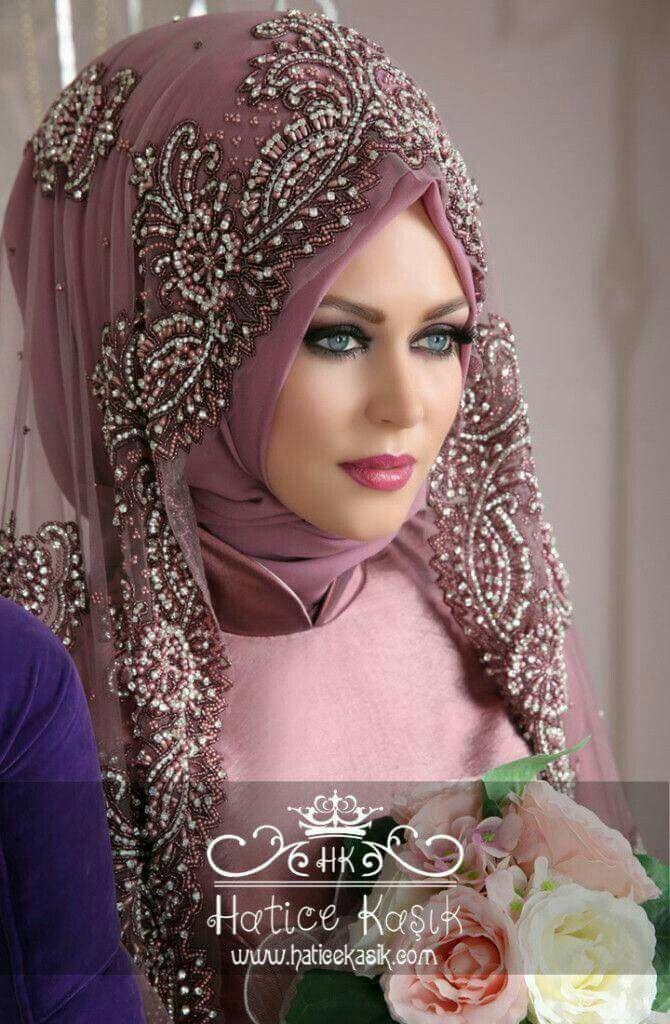 Wedding Hijab Styles Muslim Dresses Brides Bridal Moda Indiana