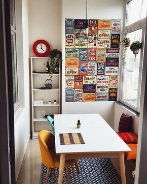 desain terbaru ruang makan minimalis modern menyatu dengan