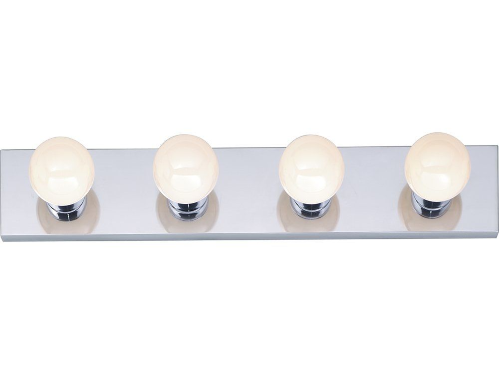 Nuvo sf77193 four light vanity strip polished chrome 24 inch nuvo lighting four light bathroom bar light polished chrome indoor lighting bathroom fixtures vanity strip aloadofball Choice Image