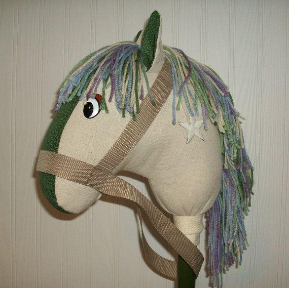 Meet Chase ~ Child's Stick Horse / Kid's Stick Horse Toy / Boy's Girl's Stick Horse / Stick Horse / Stick Pony / Great Child Valentine Gift by JazziGenShoppe