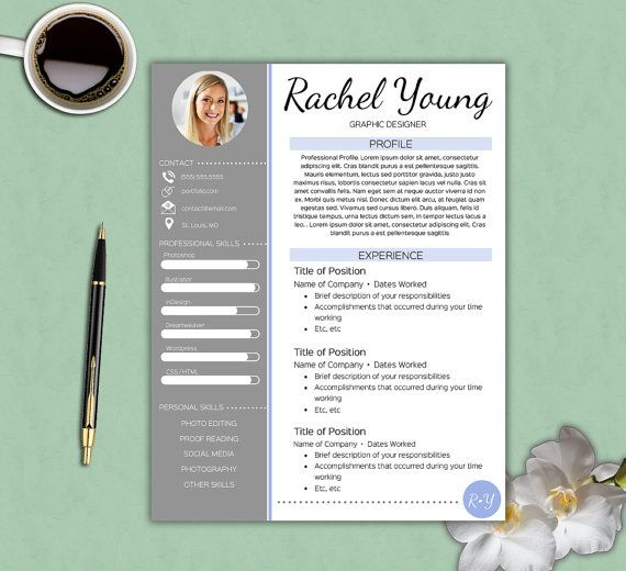 Creative Resume Template Free Cover by thePrintableEmporium - creative resume templates free download