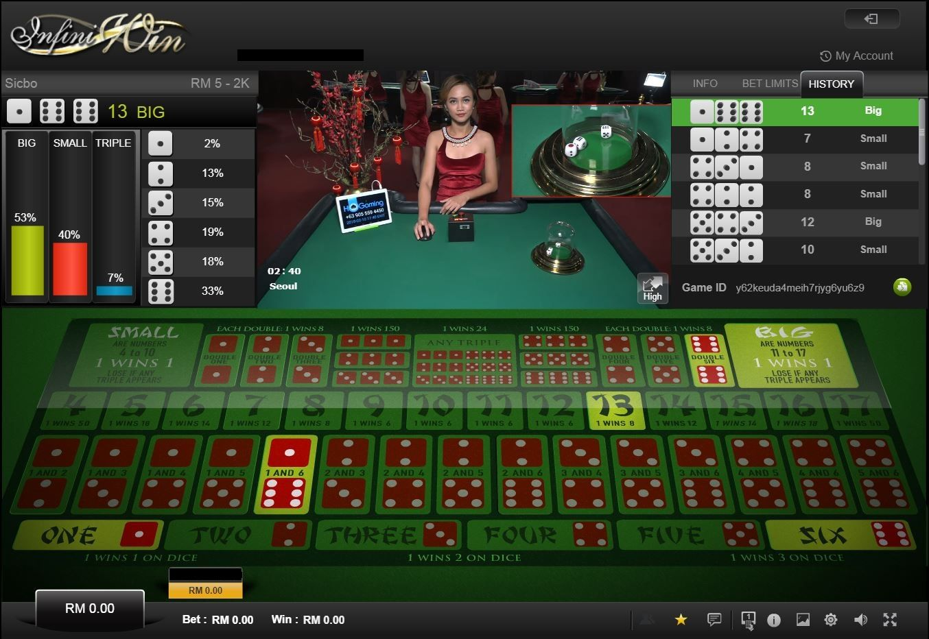 Onlinespel, Online casino lucky lady charm