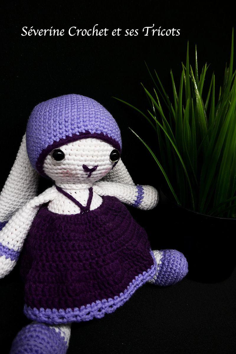Lulu Tulipe Lapin Au Crochet Tutoriel écrit Français Gratuit