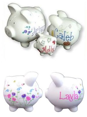Personalized piggy banks from baby gifts and gift baskets gift personalized piggy banks from baby gifts and gift baskets negle Gallery