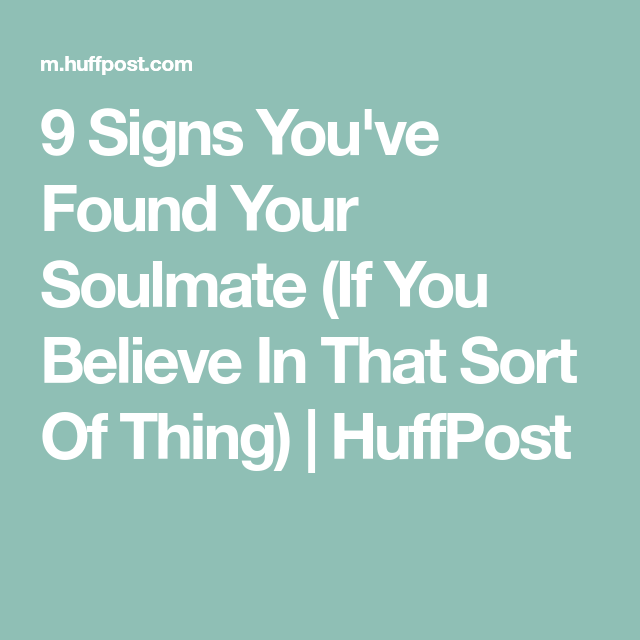 what if you find your soulmate after you are married