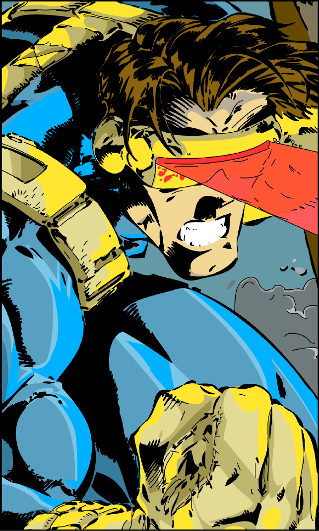 Vector Image (from comic book cover) - Adobe Illustrator