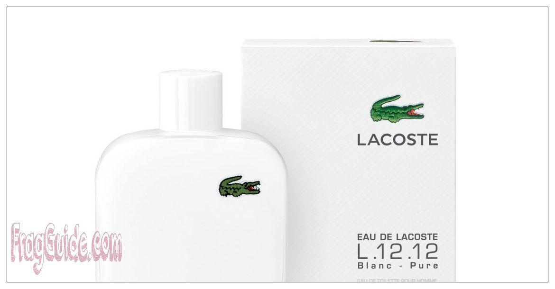 عطر لاكوست وايت Lacoste White للرجال L 12 12 Shampoo Bottle Fragrance Bottle