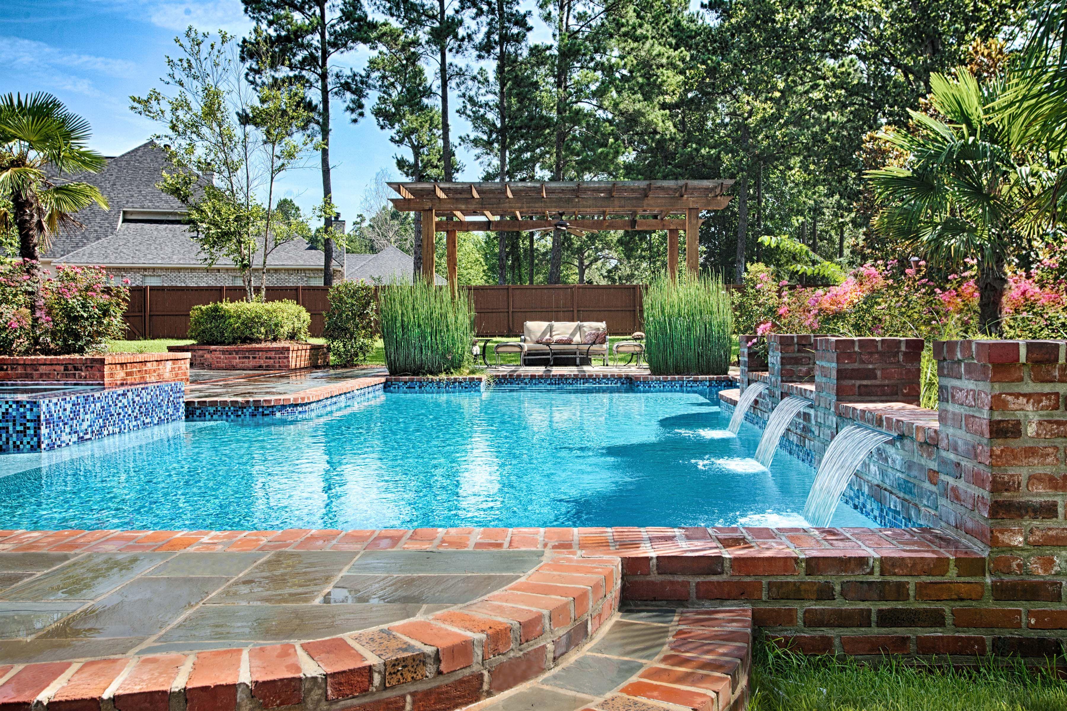 Bossier City Pool Design Shreveport Pool Construction outdoor