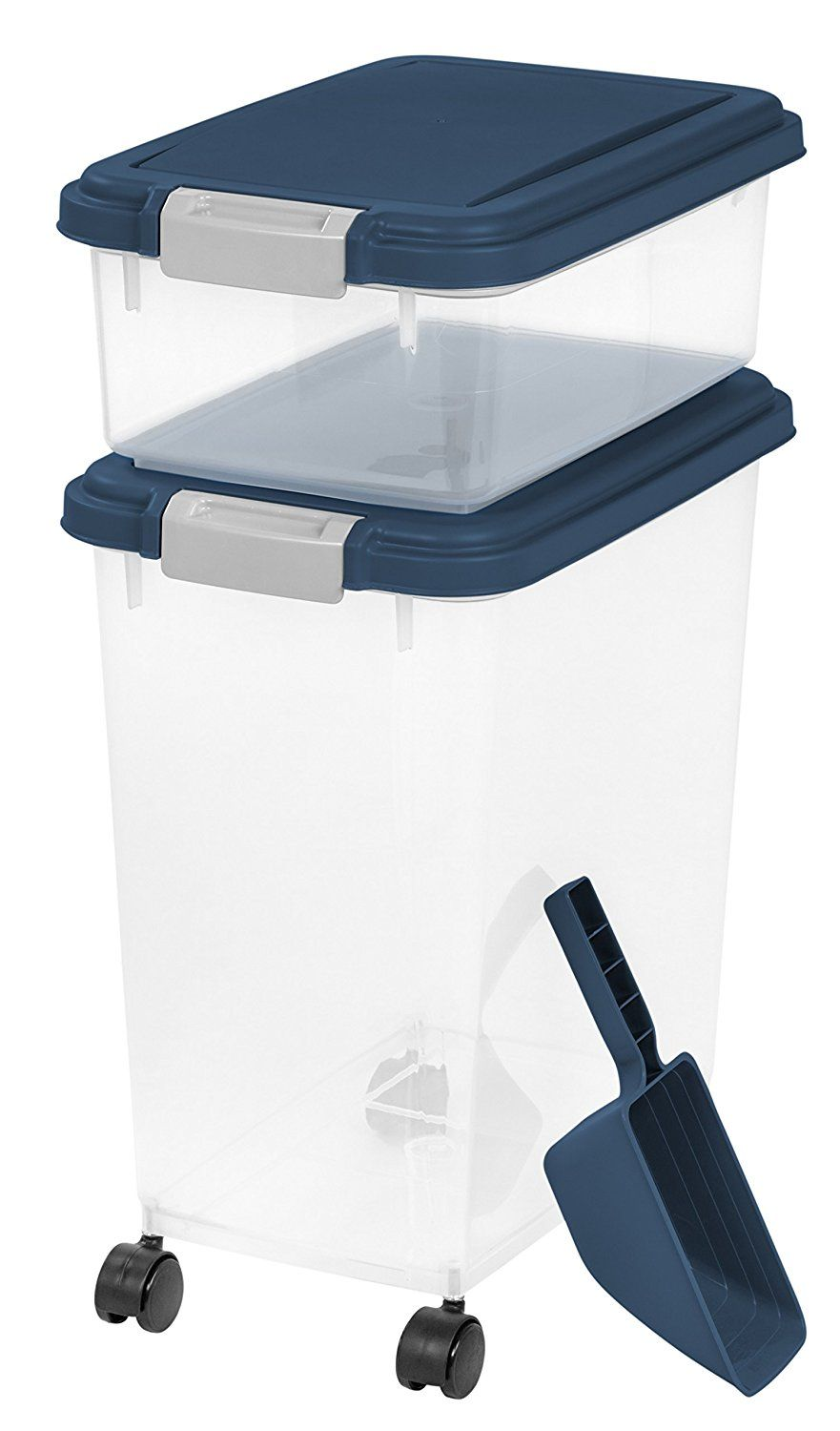 Iris 3 Piece Airtight Pet Food Container Combo Details Can Be