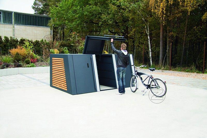 Fahrradgarage Safestore 3er Box Fahrradgarage Safestore