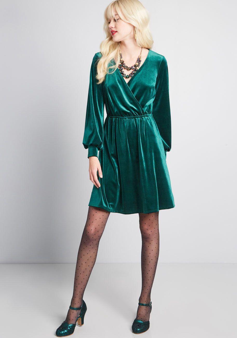 ModCloth Luxe Structure Velvet Dress Wine ModCloth