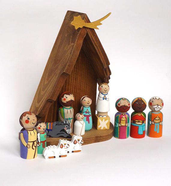 Nativity Christmas nativity Nativity set Christmas decorations