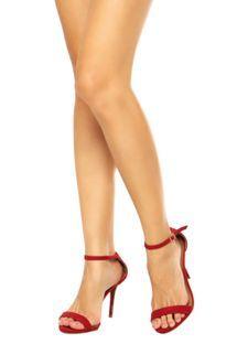 3729cd07a Sandália DAFITI SHOES Vermelha   Bolsas , Sapatos & Acessorios ...