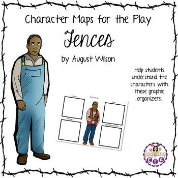 Character Maps for the Play Fences by August Wilson in 2018