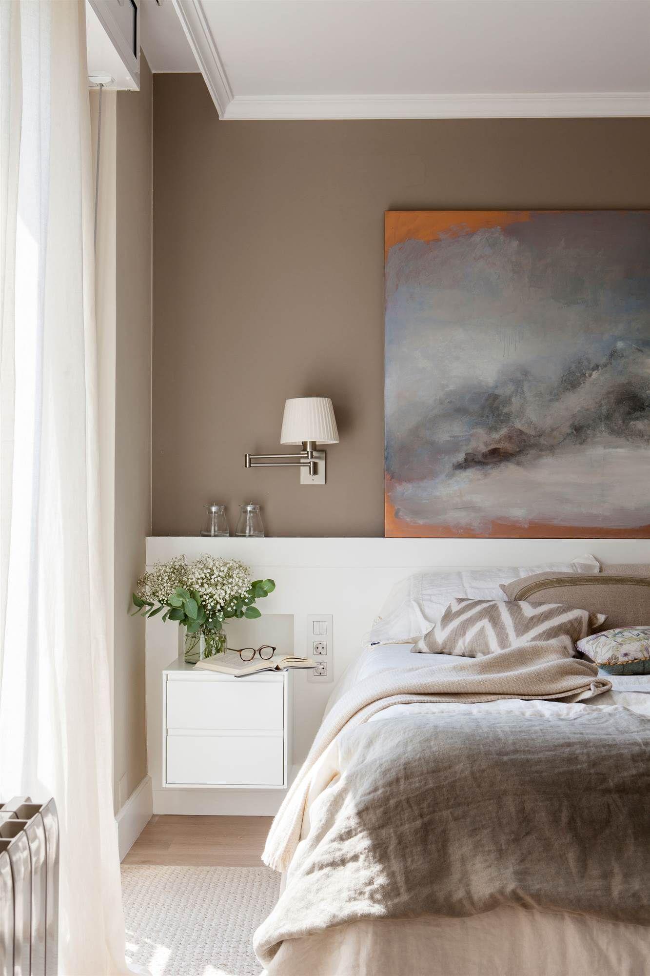 Pared y cabecero de cristal  Dormitorios, Ideas de decoración de