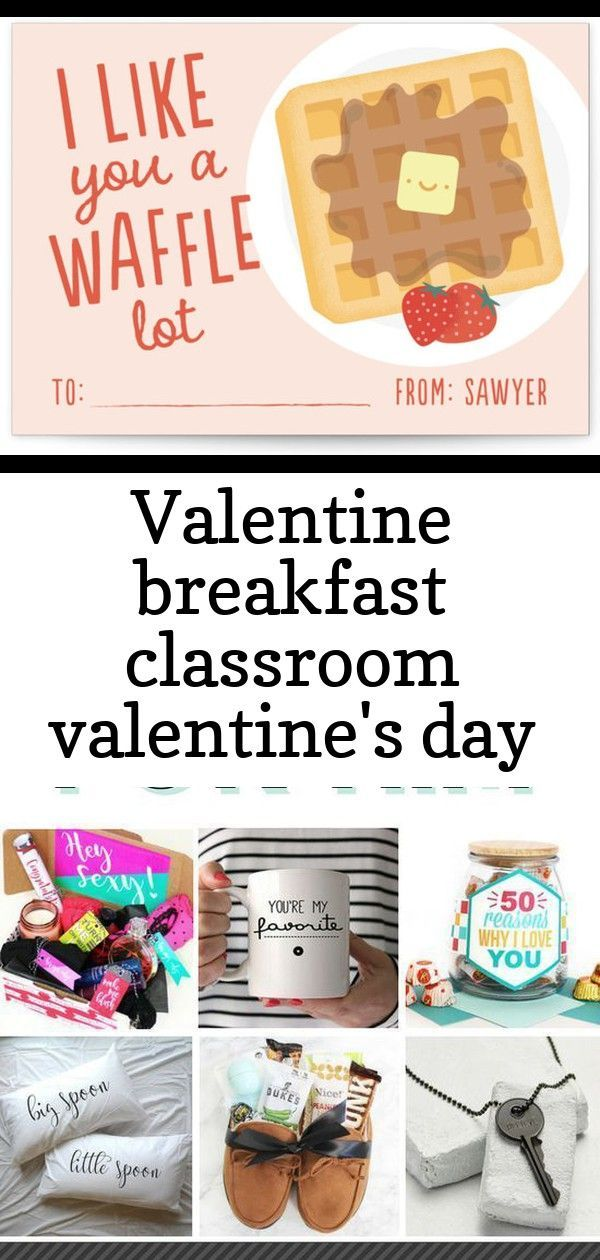 Valentine breakfast classroom valentine's day cards -  Valentine Breakfast Classroom Valentine's