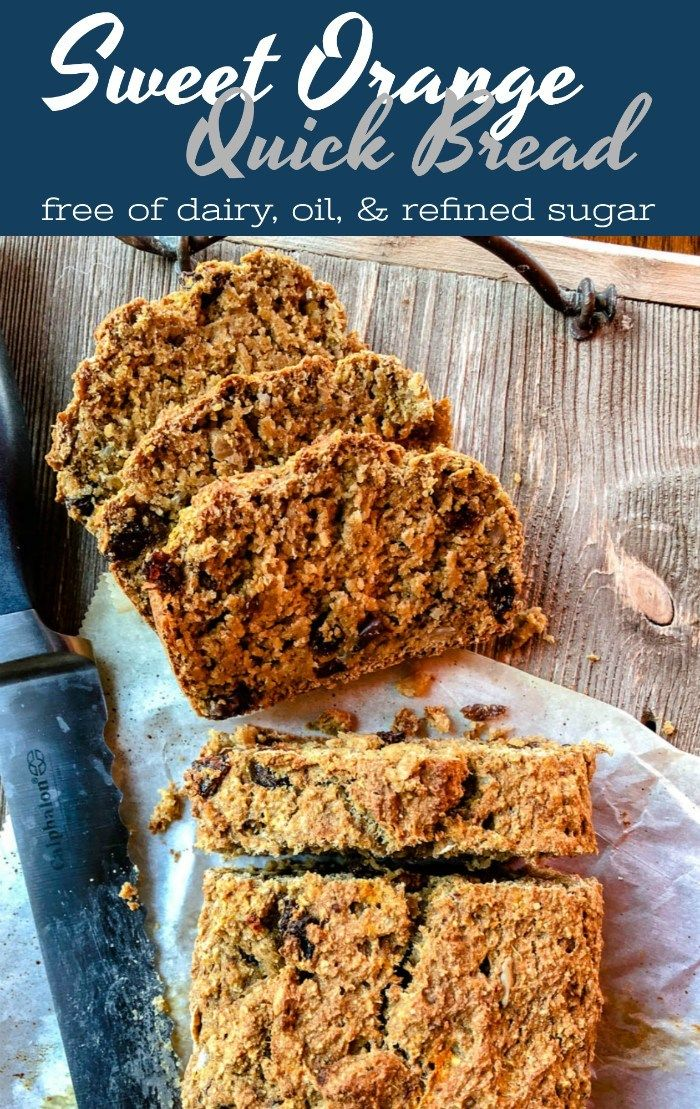Sweet Orange Quick Bread