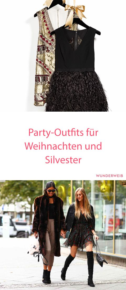 Weihnachts- und Silvester-Outfits 2017: Party-Klassiker ...