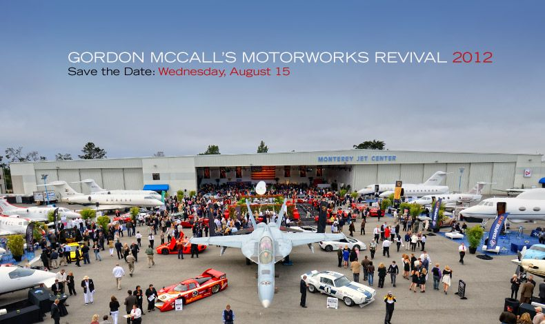Gordon McCall's Motorworks Revival and the Quail Motorsports Gathering  are the best events of Monterey sportscar week!