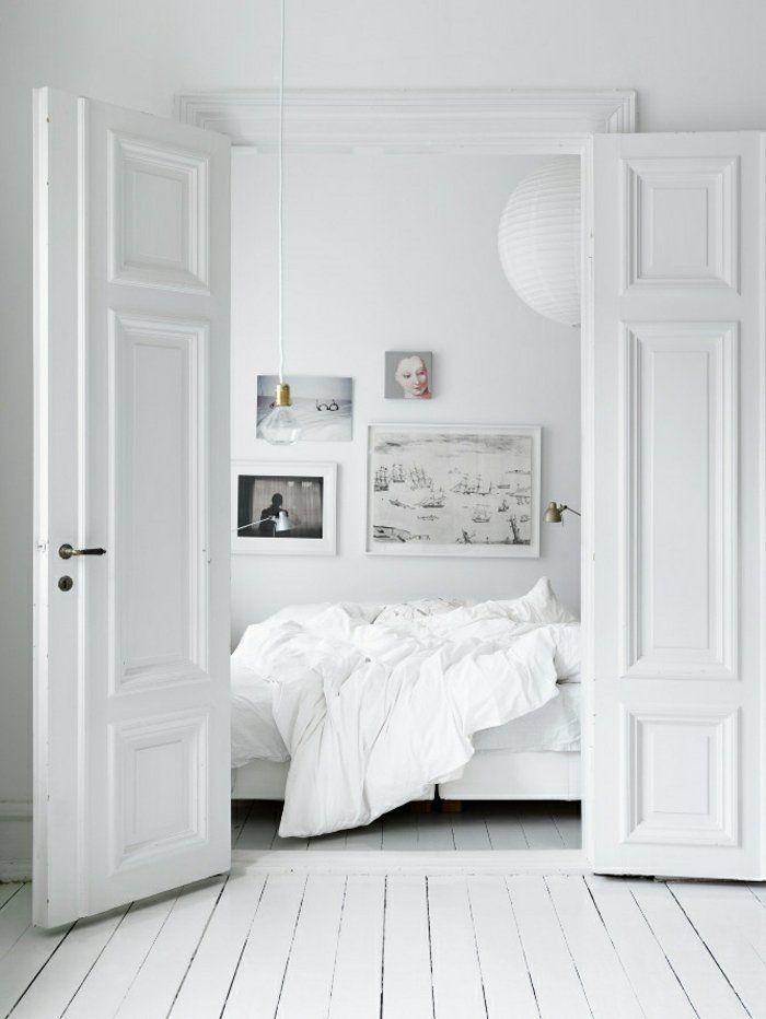 skandinavisches design schlafzimmer ideen skandinavisch einrichten - minimalismus schlafzimmer in weis