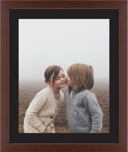 Photo Gallery Framed Print, Brown, Contemporary, None, Black, Single piece, 16 x 20 inches