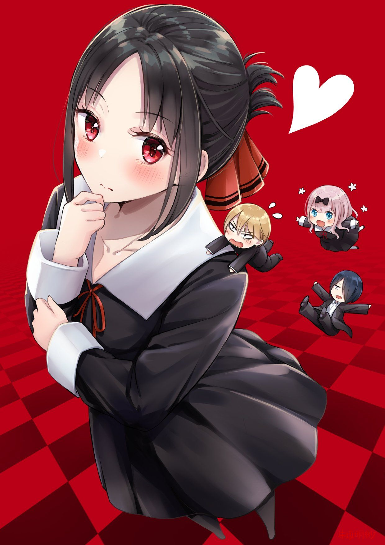 top scoring links Kaguya_sama Personagens de anime