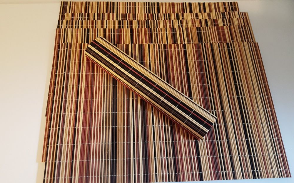 Pin By Lisa Neault On My Ebay Stuff Bamboo Placemats Placemats Tiki