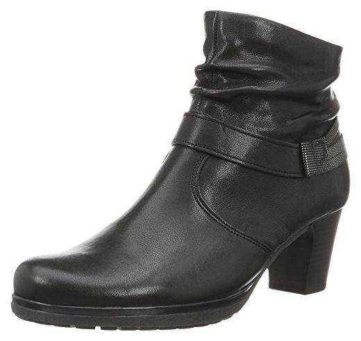 Gabor Shoes Damen Gabor Comfort Kurzschaft Stiefel, Schwarz