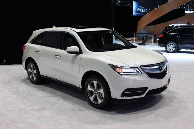 2016 Acura Mdx Acura Mdx Acura Rdx Acura