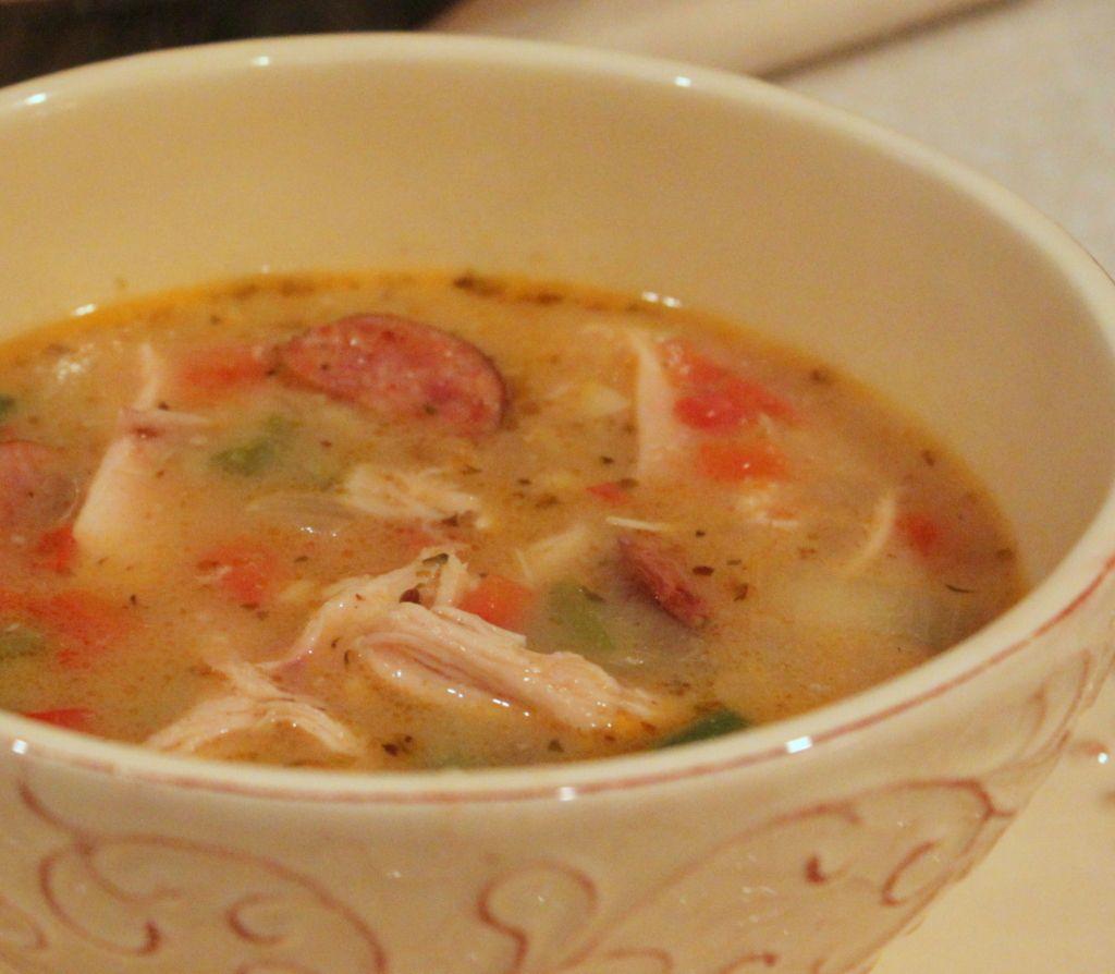 Chicken & Sausage Gumbo Recipe