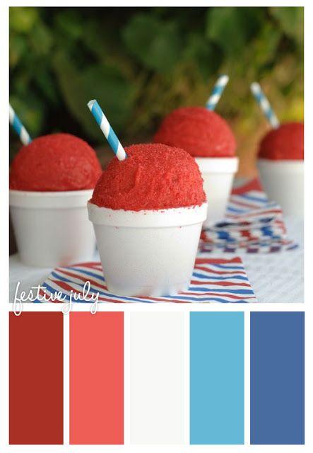 festive july #fourth #july #inspiration