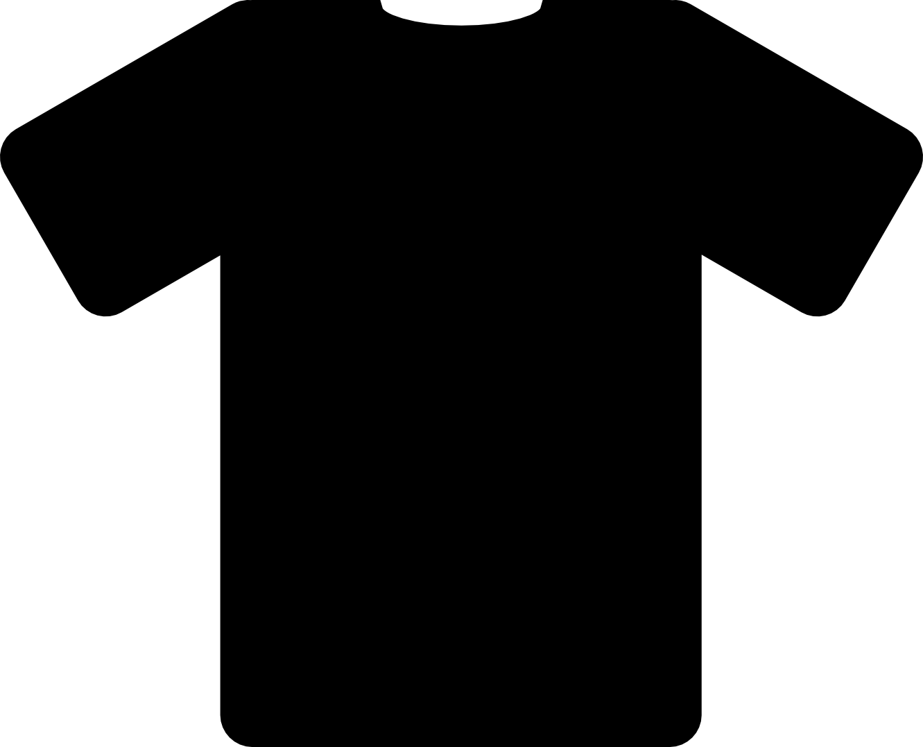 Black T Shirt Png Image