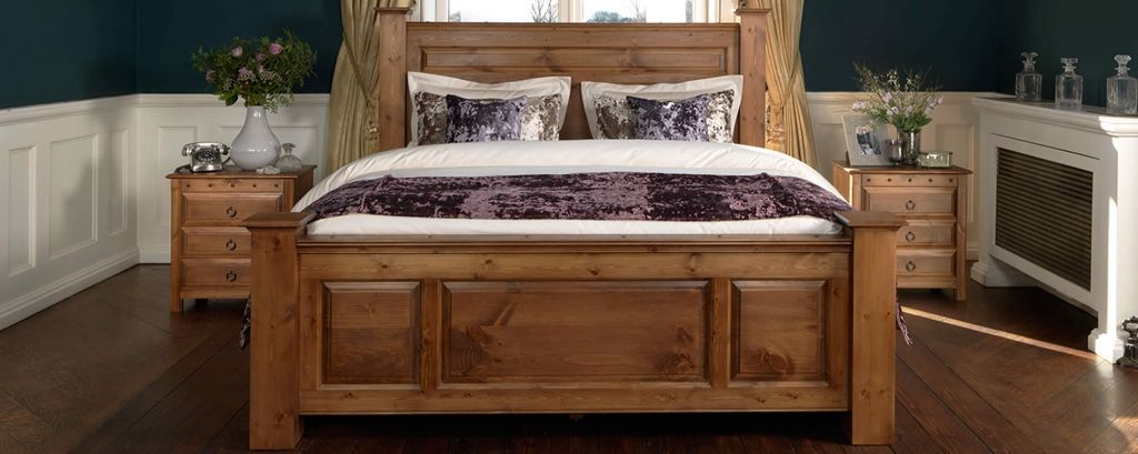 handcrafted wood bedroom furniture - interior decorations for ...