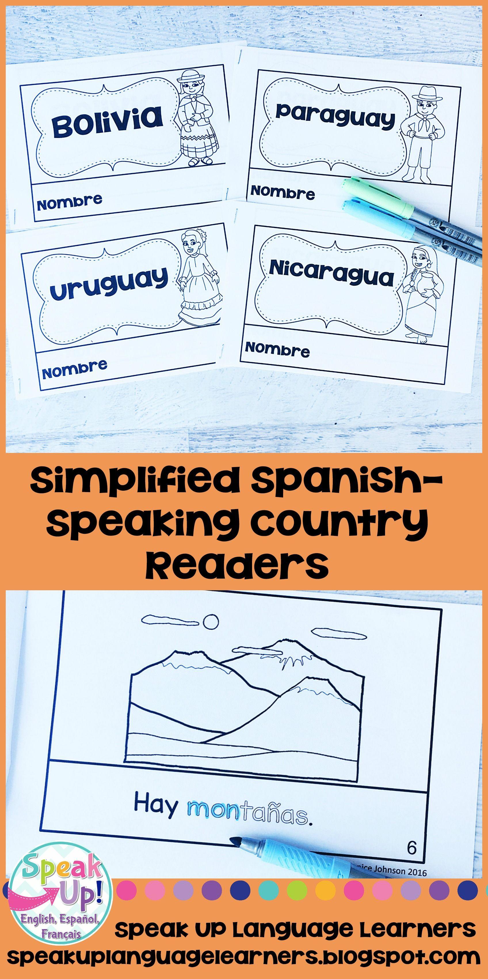 Spanish Speaking Countries Bundle 4 En Espanol