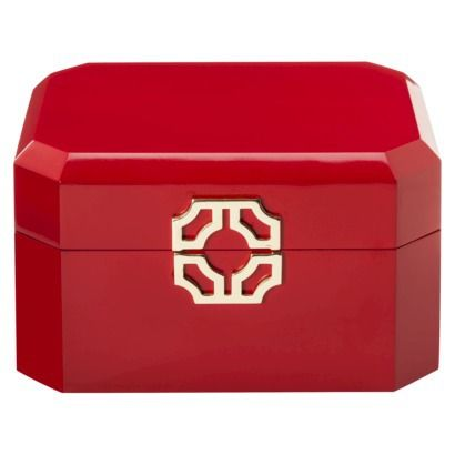 Lacquer Jewelry Box Red Target 24 99 Gift Ideas Jewelry Box